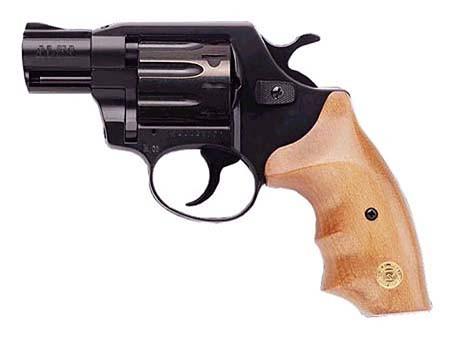 Револьвер під патрон флобера ALFA model 420 рукоять горіх