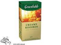 Чай Грінфілд ф/п 25штx1.5г Creamy Rooibos ваніль та апельсин