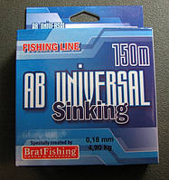 BratFishing Леска AB UNIVERSAL SINKING 0. 18- 0.36,