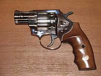 Револьвер под патрон флобера ALFA model 420 (никель, дерево)