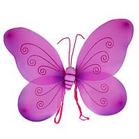 Крылья Бабочки малиновые, большие