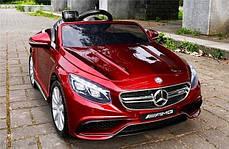 Детский электромобиль Mercedes S63, фото 2