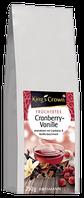 King's Crown Früchtetee Cranberry-Vanille - Фруктовый чай  клюква-ваниль, 250 г