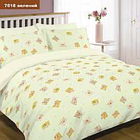 Комплект постельного белья детский ранфорс Вилюта 7618 зеленый