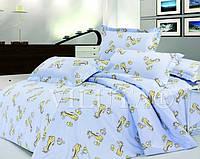 Комплект постельного белья детский ранфорс Вилюта 5507 голубой