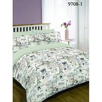 Комплект постельного белья ранфорс-платинум Вилюта 9708