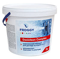 Хлор мультифункциональный Froggy Украина (таблетки 200 г),  5 кг