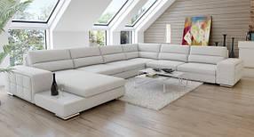 Диван дизайнерский под заказ П-образный Элегия-1 (Мебель-Плюс TM)