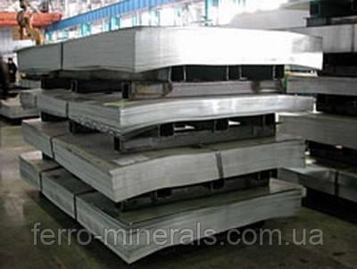 Нержавеющий лист 0,8х1250х2500мм,  AISI 430 (12X17),ВА+РЕ