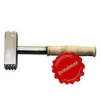 Ручной победитовый молоток бучарда 16*5 зубьев для скульпторов и гравировщиков по камню.