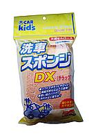 """Губка для мойки кузова из натуральной целлюлозы Soft99 Car Kid's """"Washing Sponge DX"""", фото 1"""