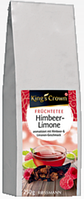 King's Crown Früchtetee Himbeere-Limone -  ФРУКТОВЫЙ ЧАЙ Малина лимон,250 г