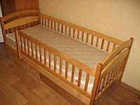 Кровать Карина Люкс (1 ярус) + ящики + перегородки + матрас