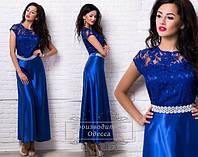 Женское нарядное длинное платье Мулине