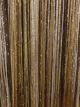 Шторы нити с люрексом радуга 17, фото 3