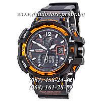 Часы Casio G-Shock GW-A1100 Black-Orange