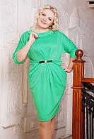 Трикотажное платье Тереза большие размеры 50-58