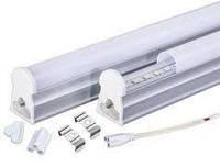 Светодиодный линейный светильник Т5 1200мм 3200К с кнопкой на корпусе
