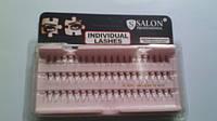 Пучковые ресницы Salon professional flare medium black (СРЕДНИЕ)