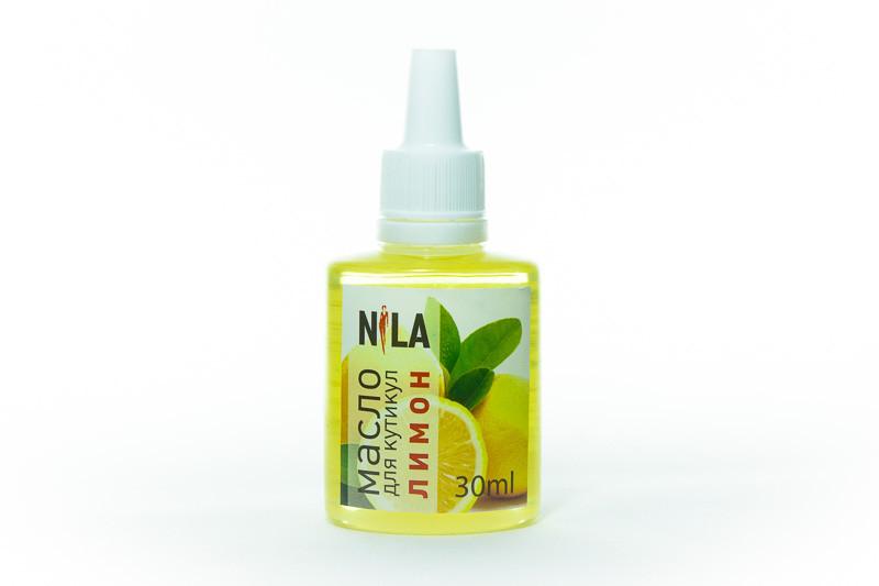 Nila Cuticle Oil Увлажняющее масло для кутикулы Лимон , 30 мл