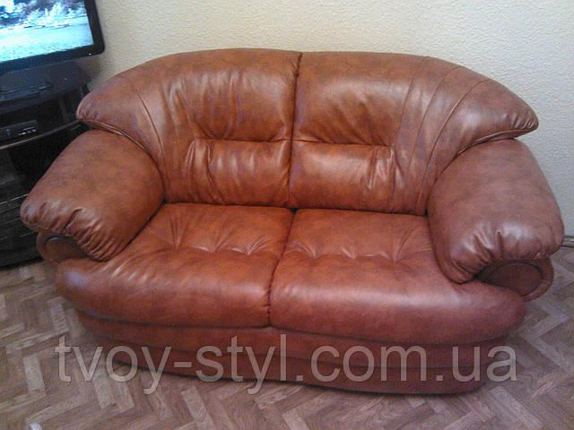 Перетяжка мягкой мебели в кожу Днепропетровск 11