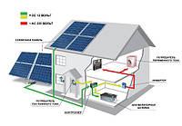 Гібридна станція 10 кВт