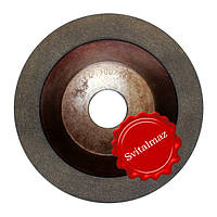 Алмазный круг, диск Ф150 мм. зерно 200/160 для заточки инструмента, победитовых спиц, стержней, игл и скарпеле