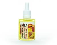 Nila Cuticle Oil Увлажняющее масло для кутикулы Персик , 30 мл
