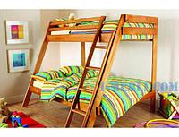 Деревянная 2-х ярусная кровать Берни