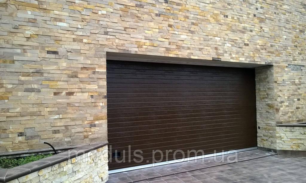 Секционные гаражные ворота подъемные Gant Plus