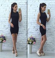 Женское летнее Платье асимметрия 5 цветов р. 42,44,46