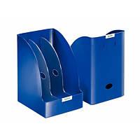 Лоток вертикальный Leitz Plus Jumbo, синий