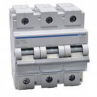 Автоматический выключатель 125 А, 3п, С, 10 kA, Hager HLF399S