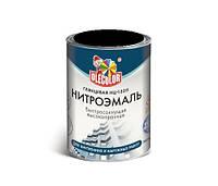 Нитроэмаль НЦ-132П OLECOLOR черная, 0,7кг