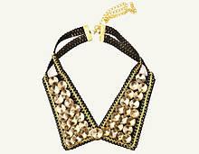 Ожерелье-воротник накладной с камнями