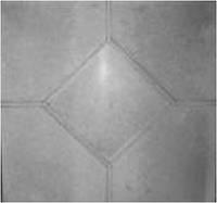 Плитка тротуарная ФЭМ «Ромб гладкий»