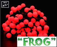 Гирлянда светодиодная LED шарики 10м уличные новогодние гирлянды шарики 100led, фото 1