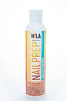 Nila Nail Prep Обезжириватель с антибактериальным эффектом Аквамарин, 250 мл