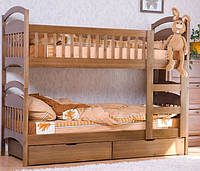 Деревянная 2-х ярусная кровать Карина