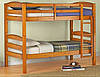 Деревянная 2-х ярусная кровать Эльдорада 36