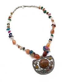 Ожерелья и бусы из камней