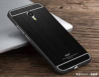 Чехол накладка бампер Mirro-like для Meizu M3 Note черный