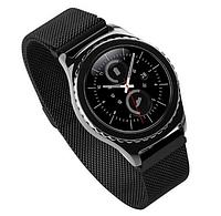 Миланский сетчатый ремешок для Samsung Gear S2 Classic (SM-R732 / SM-R735) - Black