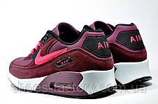 Кроссовки женские Nike Air Max 90, бордовый, фото 3