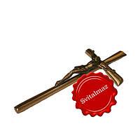 Крест с распятием католический, православный под бронзу.