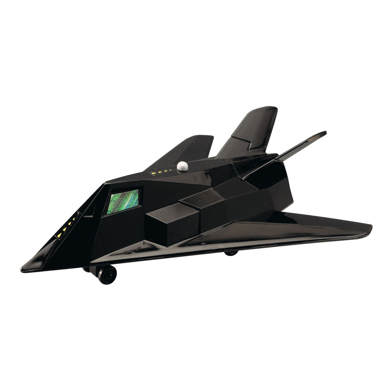 Военный самолет, 17 см (чёрный) «Dickie Toys» (3553006)