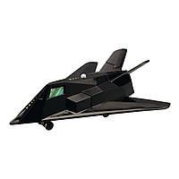Игрушечные машинки и техника «Dickie Toys» (3553006) военный самолет, 17 см (чёрный)