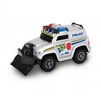 """Игрушечные машинки и техника «Dickie Toys» (3302001) полицейский автомобиль """"Rescue Car"""" со щитом, 15 см"""