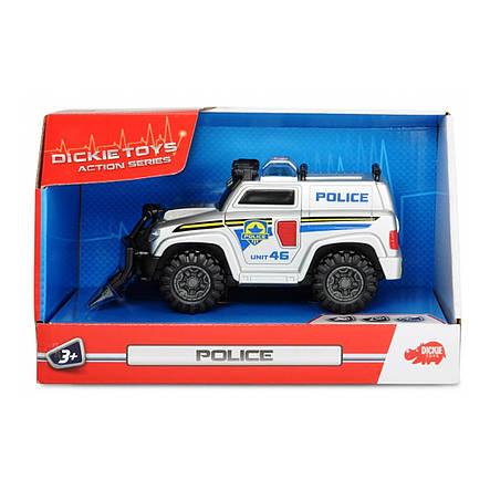 """Игрушечные машинки и техника «Dickie Toys» (3302001) полицейский автомобиль """"Rescue Car"""" со щитом, 15 см, фото 2"""