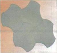 Плитка тротуарная ФЭМ «Бикини»